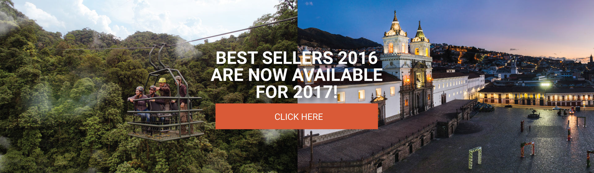 quito tours - best sellers