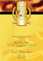 Metropolitan Touring winner at World Travel Awards 2005