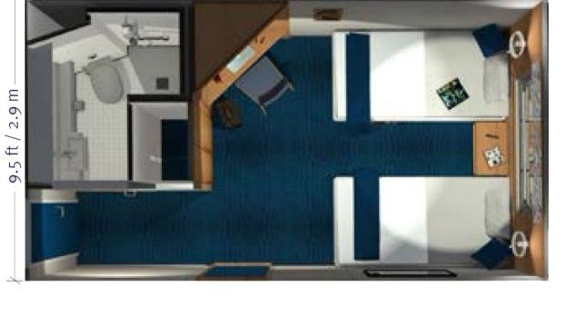 Explorer Cabin | Floor Plans – Santa Cruz II