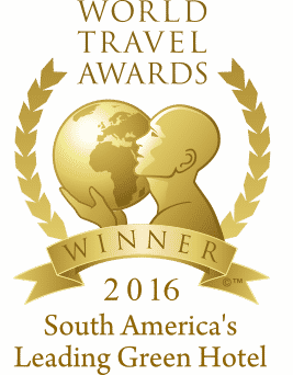 World Travel Awards Winner 2016 - South America's Leading Green Hotel
