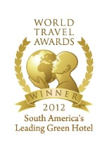 World Travel Awards 2012 - South America's Leading Green Hotel