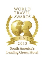 World Travel Awards 2013 - South America's Leading Green Hotel