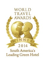 World Travel Awards 2014 - South America's Leading Green Hotel