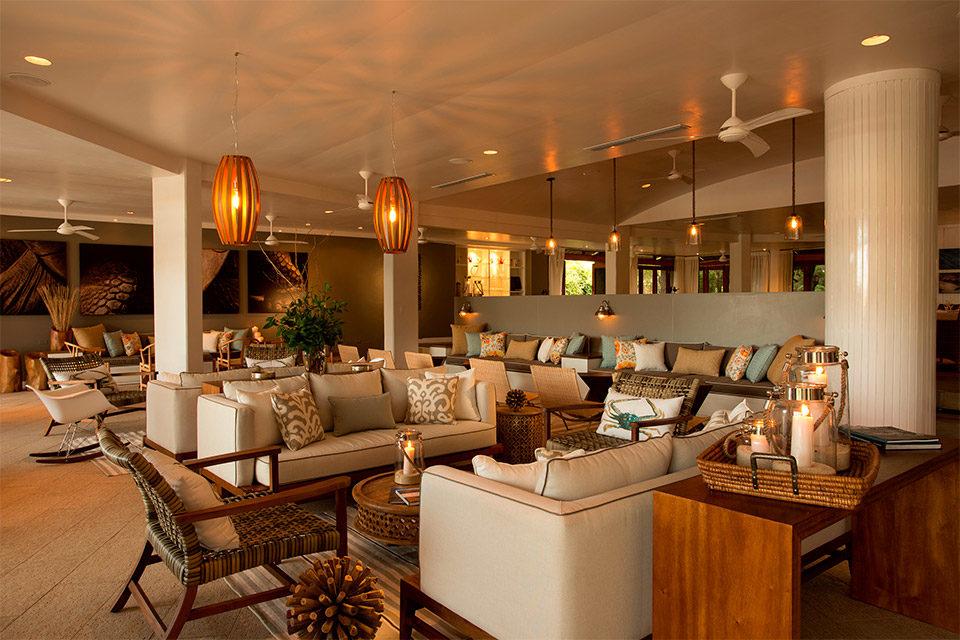Lounge Finch Bay Hotel