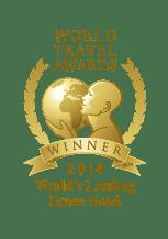 World Travel Awards Winner 2014 - World's Leading Green Hotel