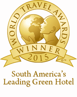 World Travel Awards 2015 - South America's Leading Green Hotel