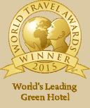 World Travel Awards Winner 2015 - World's Leading Green Hotel