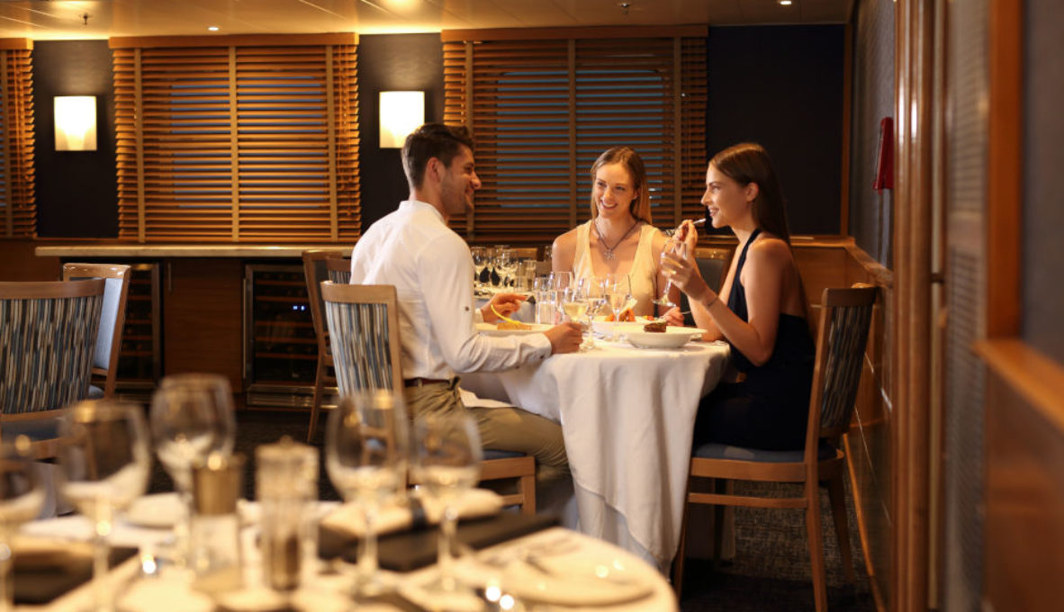 Yacht Isabela II – Social Area – Dining Room