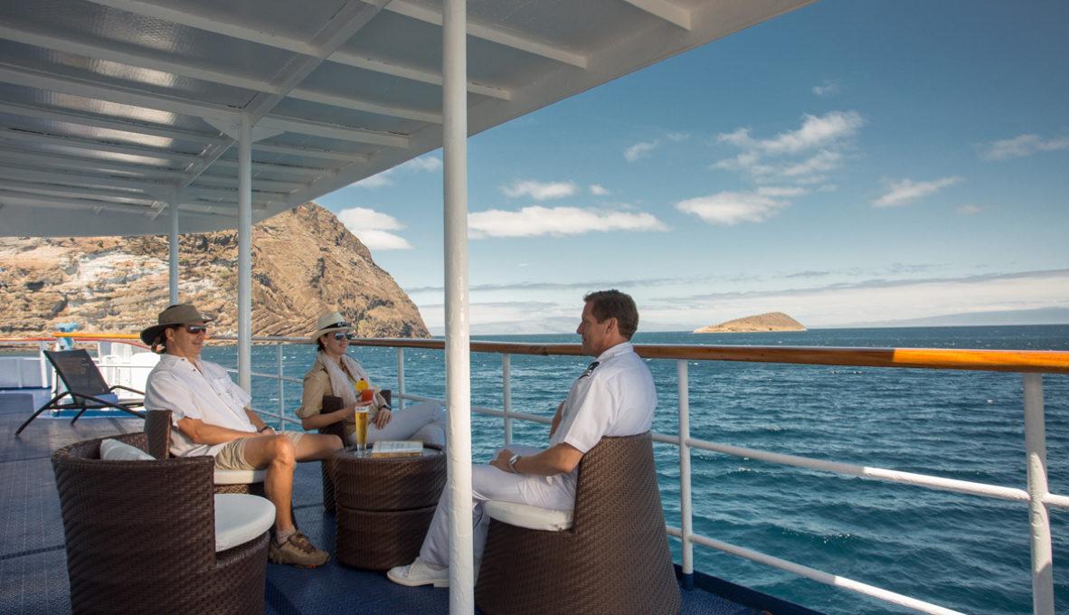 Yacht Isabela II – Social Area- Sun Deck