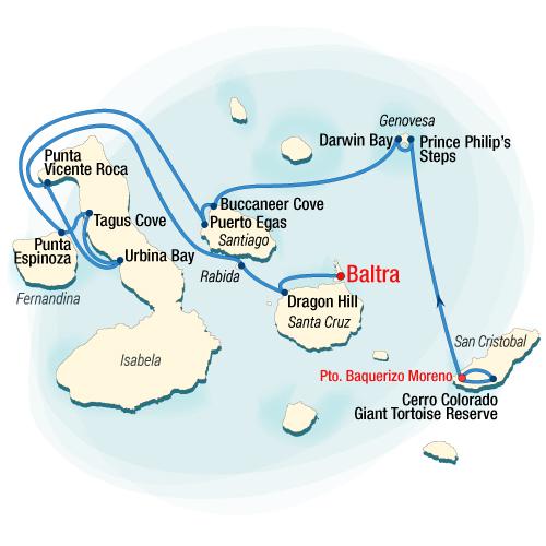 Isabela II Northern Itinerary