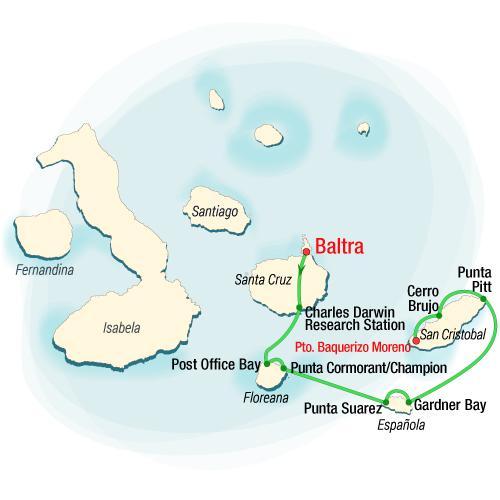 Isabela II Southern Itinerary