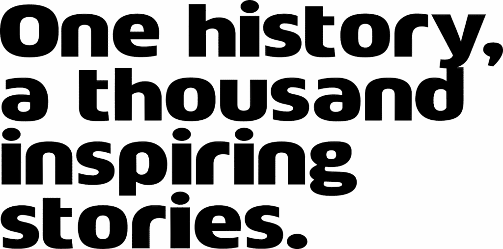 one history a thousand inspiring stories