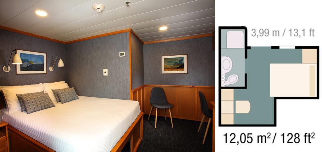 Yacht Isabela II Standard Cabin