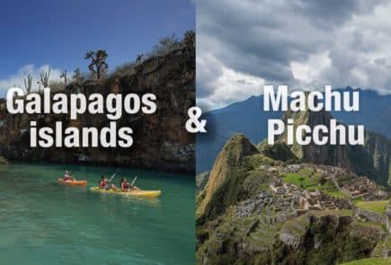 Galapagos Island & Machu Picchu