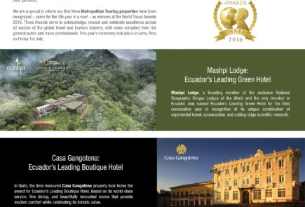 Winner World Travel Awards
