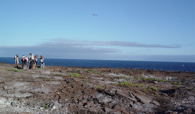 Beautiful landscape Galapagos
