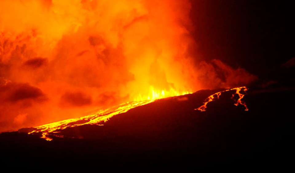 Seismic And Volcanic Activity In Galapagos And Continental