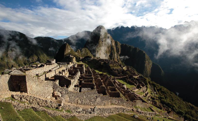 Galapagos and Machu Picchu