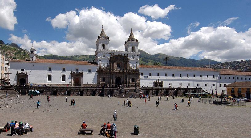 Quito_SanFrancisco-Church