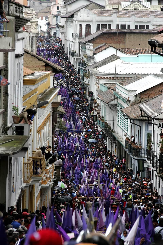 Holy friday parade.