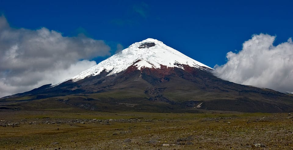 Cotopaxi Volcano: Photo credit: Gerard Prins
