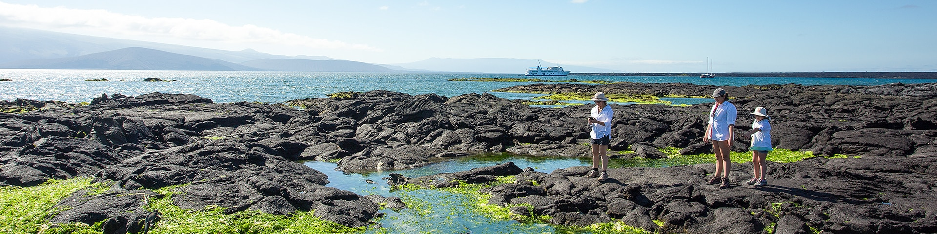 Galapagos - Lava - Hiking