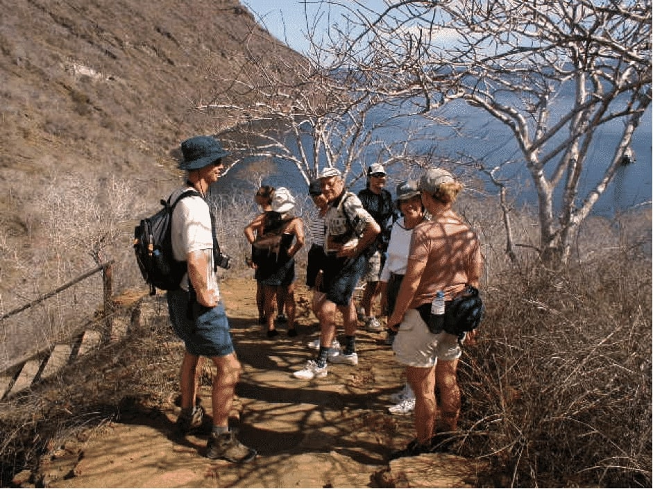 Galapagos Islands land expeditions.