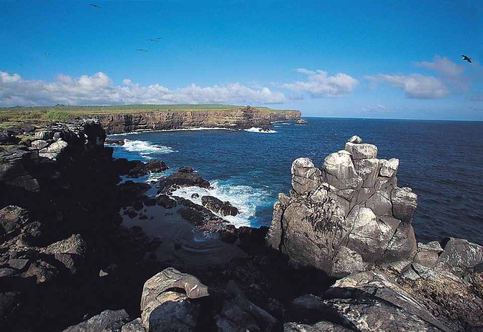 The Galapagos Islands landscape.