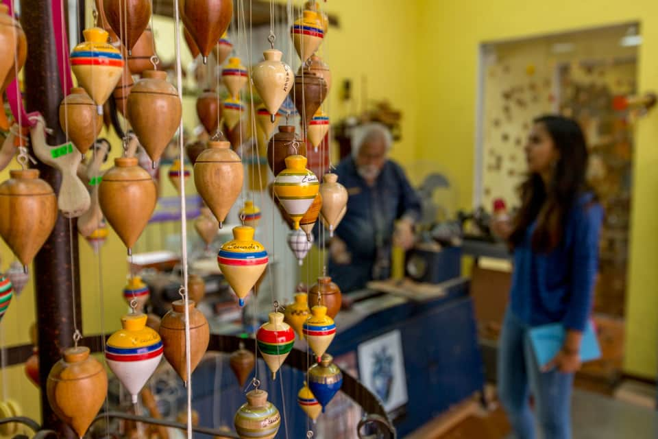 Spinning top store in La Ronda
