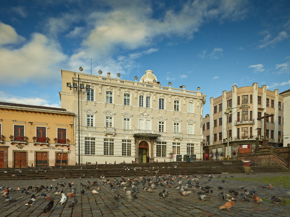 Hotel Casa Gangotena Quito.