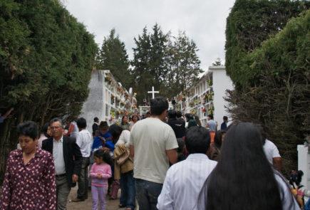 The day of death in Ecuador.