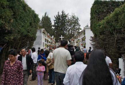 Day of death in Ecuador.