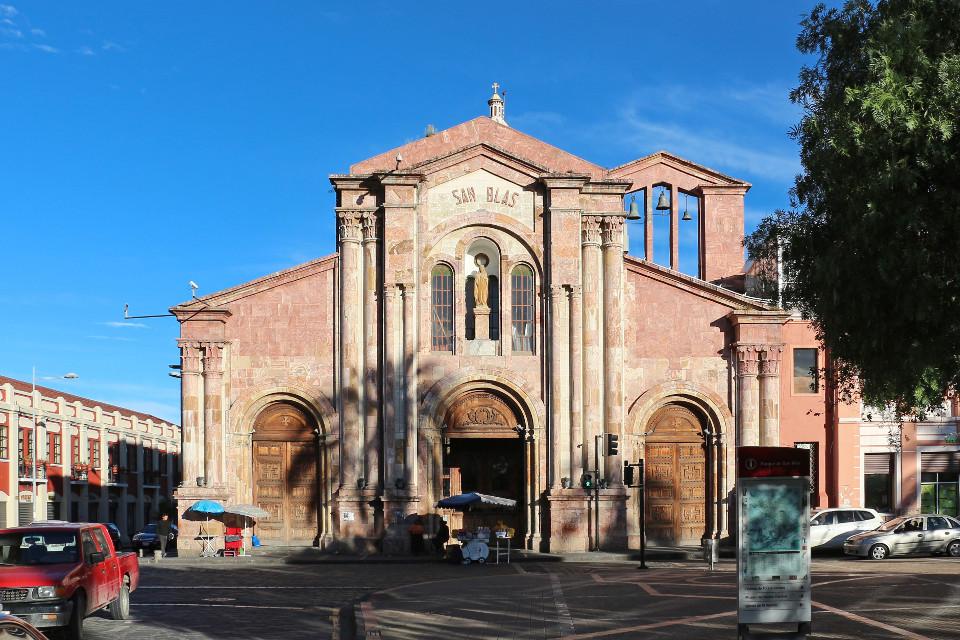 San Blas church.
