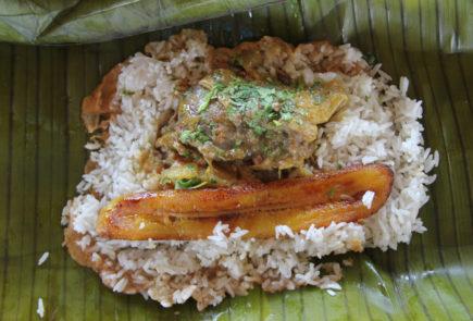Tonga Manabi food.