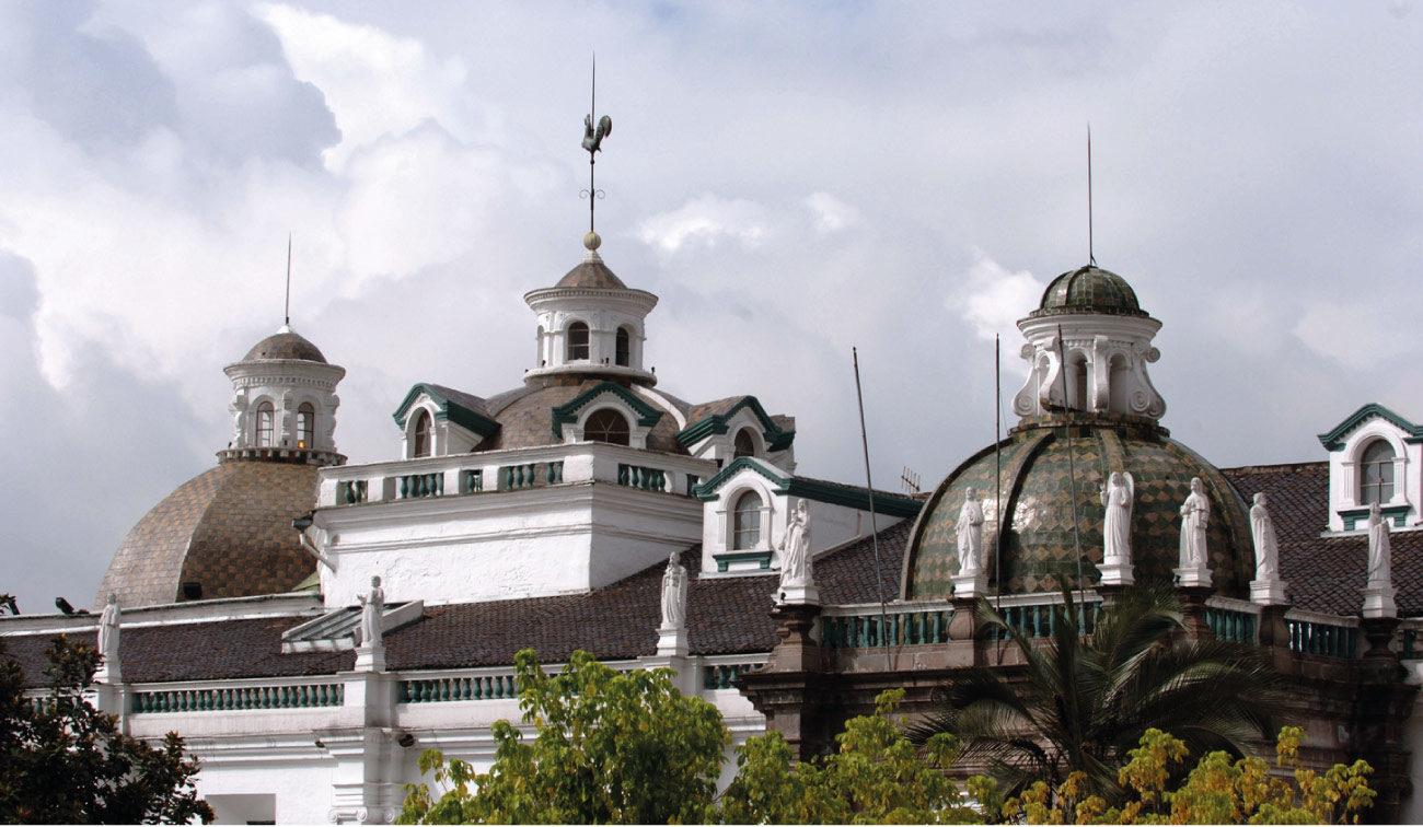 Quito – church