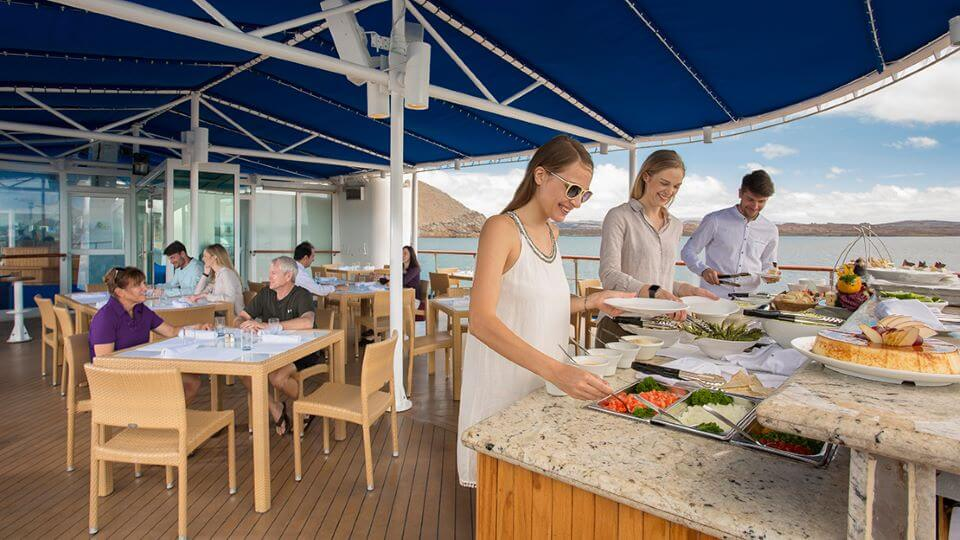 Gastronomy luxury cruises.