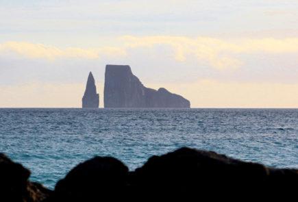 Galapagos landscape.