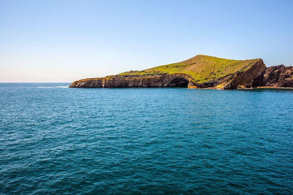Punta Vicente Isabela Island in Galapagos.
