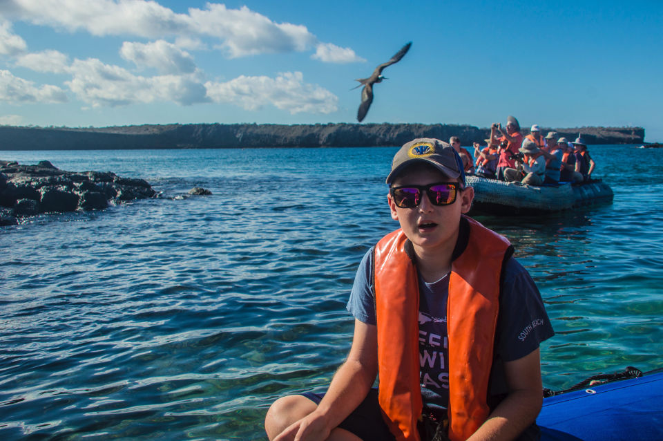 kids allowed on cruises in galapagos