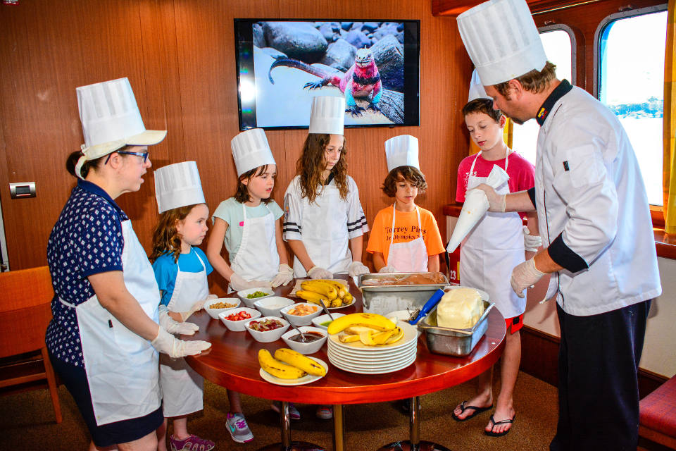 activities for kids on galapagos cruises