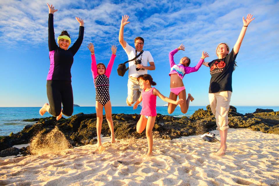 Family vacations at Santa Cruz island in the Galapagos