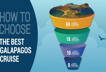 How to choose the best Galapagos cruise.