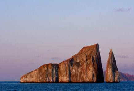 Kicker Rock in the Galapagos Islands.