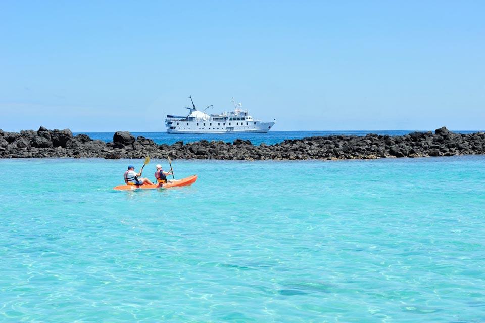 Galapagos cost: Kayaking in Galapagos