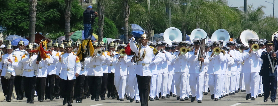 Parade in Guayaquil.