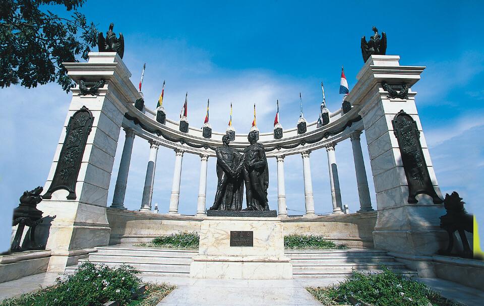 La Rotonda monument.