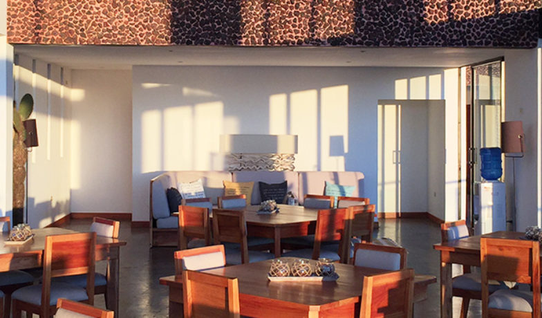 Scalesia Lodge.