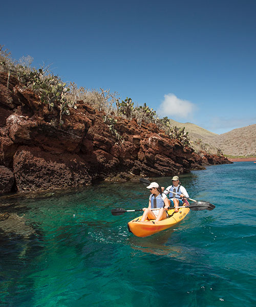 Best time to go to the Galapagos: Kayaking