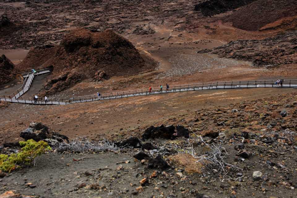 Dry season in Galapagos.