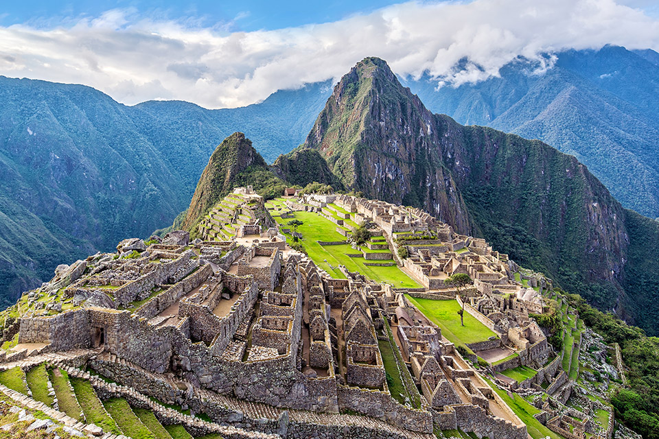 Machu Picchu Galapagos travel